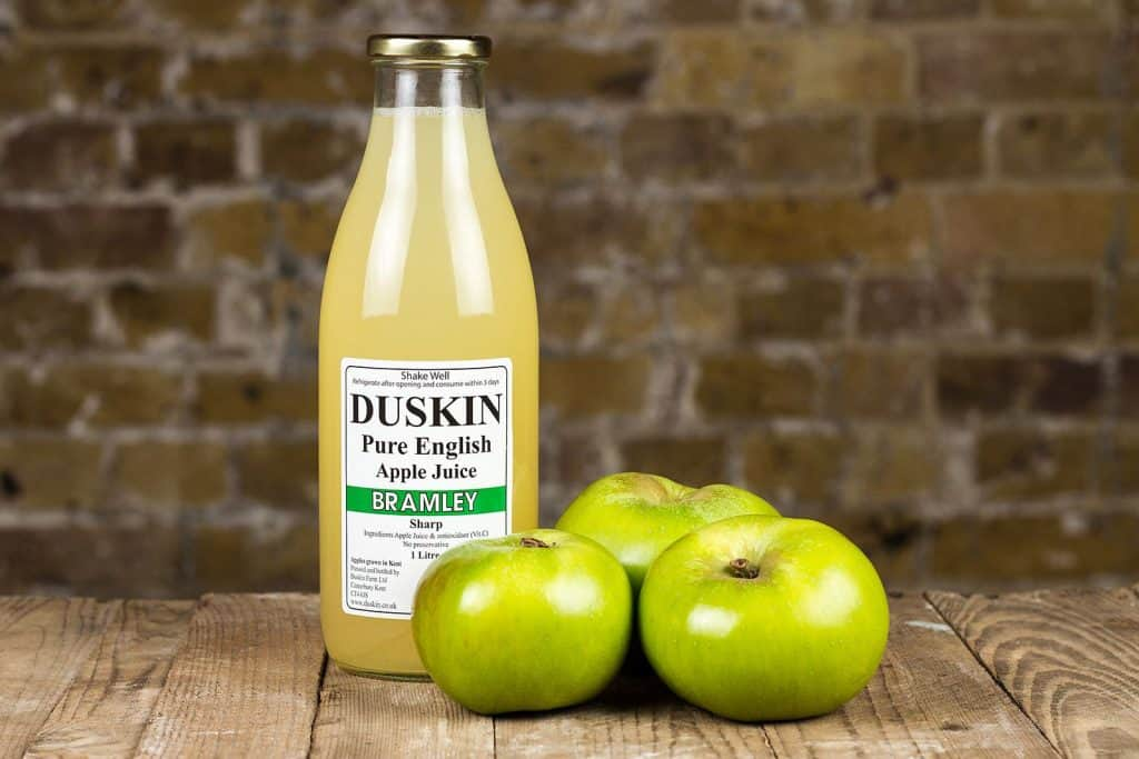Duskin Kent Apple Juice at Gibsons Farm Shop