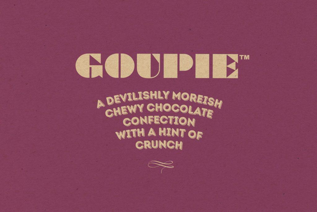 Goupie Vegan Chocolate at Gibsons Farm Shop