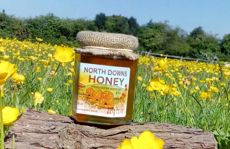 North Downs Honey at Gibsons Farm Shop Kent