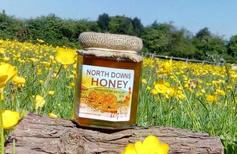 North Downs Honey at Gibsons Farm Shop Kent